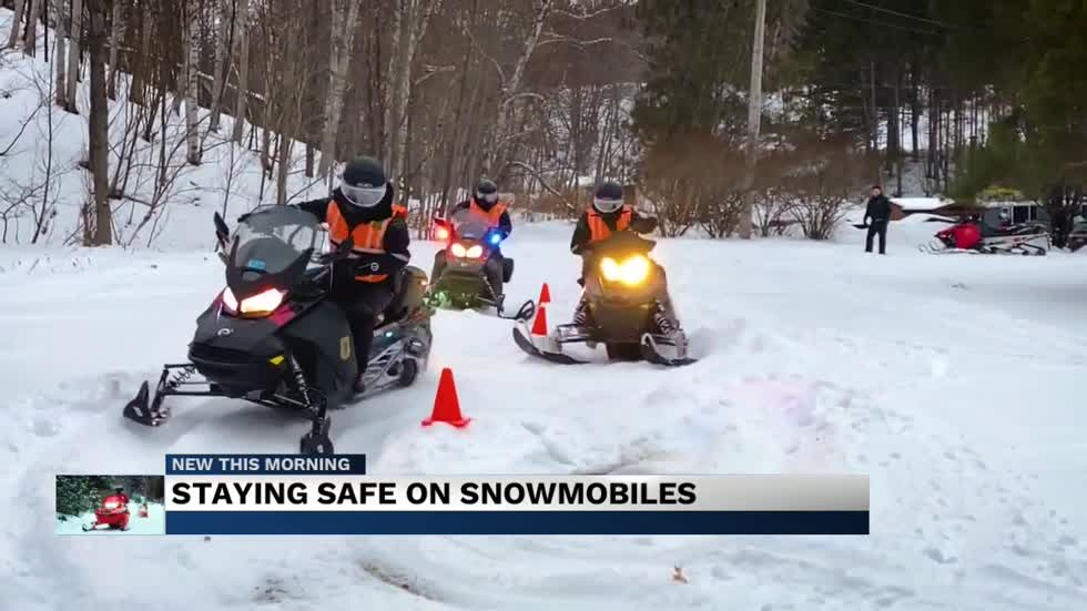 Staying safe on snowmobiles